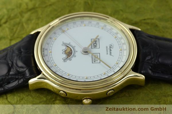 Used luxury watch Chopard Luna Doro 18 ct gold quartz Kal. 605/444 Ref. 1103  | 151767 05