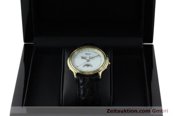 Used luxury watch Chopard Luna Doro 18 ct gold quartz Kal. 605/444 Ref. 1103  | 151767 07