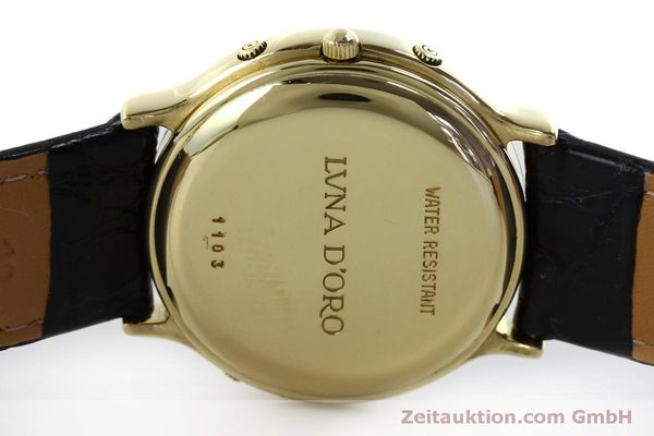 Used luxury watch Chopard Luna Doro 18 ct gold quartz Kal. 605/444 Ref. 1103  | 151767 09