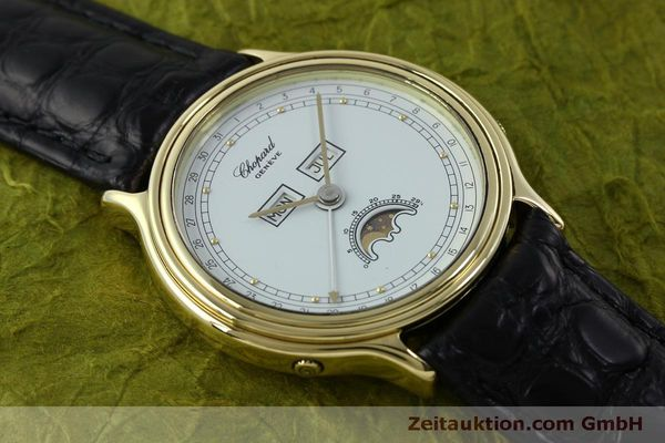 Used luxury watch Chopard Luna Doro 18 ct gold quartz Kal. 605/444 Ref. 1103  | 151767 12