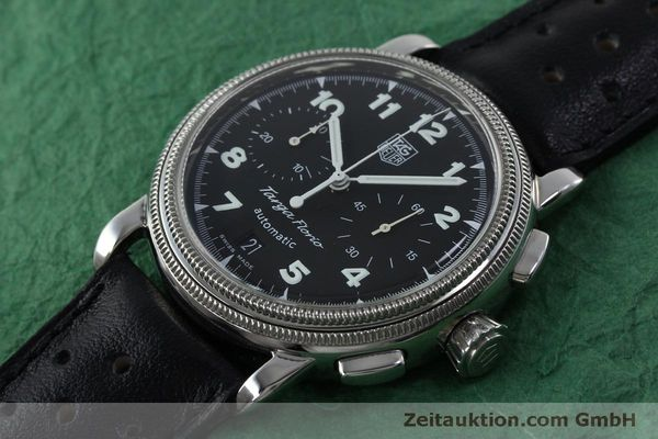 Used luxury watch Tag Heuer Targa Florio chronograph steel automatic Kal. ETA 2894-2 Ref. CX2110  | 151772 01