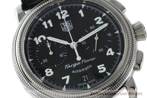 Used luxury watch Tag Heuer Targa Florio chronograph steel automatic Kal. ETA 2894-2 Ref. CX2110  | 151772 02