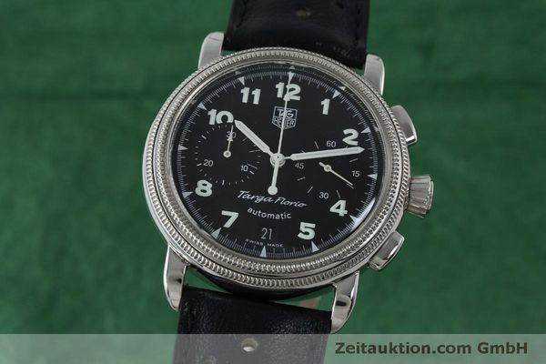 Used luxury watch Tag Heuer Targa Florio chronograph steel automatic Kal. ETA 2894-2 Ref. CX2110  | 151772 04