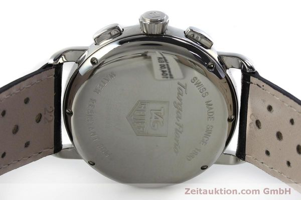 Used luxury watch Tag Heuer Targa Florio chronograph steel automatic Kal. ETA 2894-2 Ref. CX2110  | 151772 09