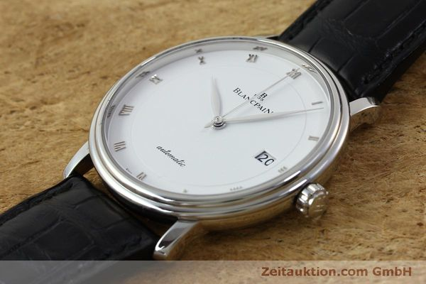 Used luxury watch Blancpain Villeret steel automatic Kal. 1150 Ref. 6223  | 151773 01