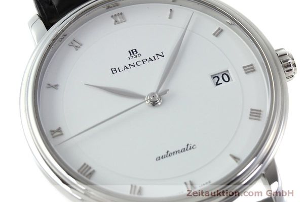 Used luxury watch Blancpain Villeret steel automatic Kal. 1150 Ref. 6223  | 151773 02