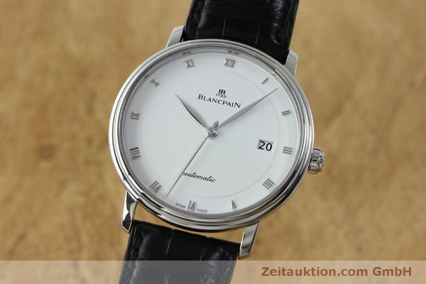 Used luxury watch Blancpain Villeret steel automatic Kal. 1150 Ref. 6223  | 151773 04