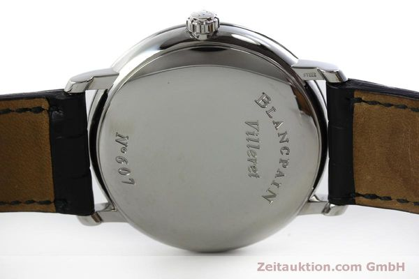 Used luxury watch Blancpain Villeret steel automatic Kal. 1150 Ref. 6223  | 151773 09