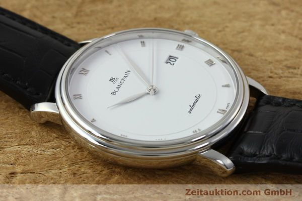 Used luxury watch Blancpain Villeret steel automatic Kal. 1150 Ref. 6223  | 151773 18