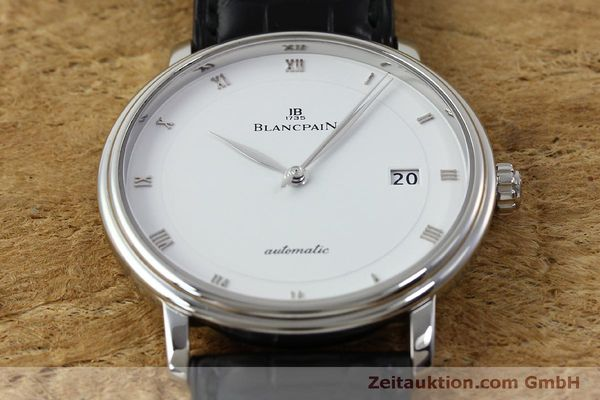 Used luxury watch Blancpain Villeret steel automatic Kal. 1150 Ref. 6223  | 151773 19