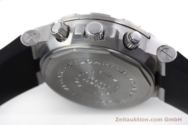 Used luxury watch Bvlgari Scuba chronograph steel automatic Kal. 2280MBBB Ref. SCB38S  | 151774 08
