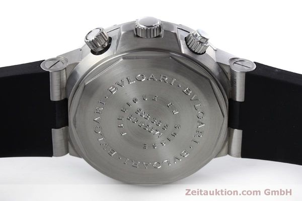 Used luxury watch Bvlgari Scuba chronograph steel automatic Kal. 2280MBBB Ref. SCB38S  | 151774 09