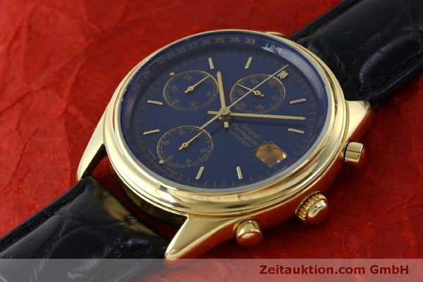 Used luxury watch Girard Perregaux * chronograph 18 ct gold automatic Kal. 8000-514  | 151776 01