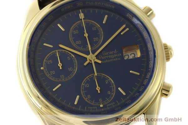 montre de luxe d occasion Girard Perregaux * chronographe or 18 ct automatique Kal. 8000-514  | 151776 02