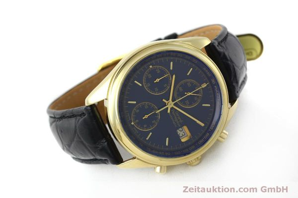montre de luxe d occasion Girard Perregaux * chronographe or 18 ct automatique Kal. 8000-514  | 151776 03