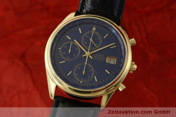 Used luxury watch Girard Perregaux * chronograph 18 ct gold automatic Kal. 8000-514  | 151776 04