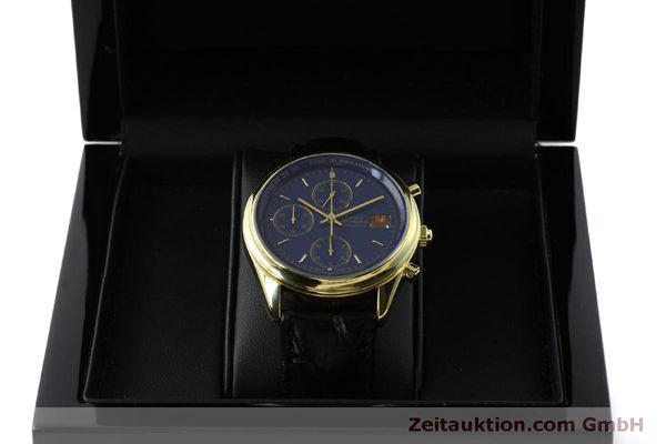Used luxury watch Girard Perregaux * chronograph 18 ct gold automatic Kal. 8000-514  | 151776 07
