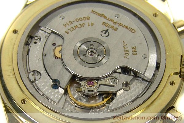 Used luxury watch Girard Perregaux * chronograph 18 ct gold automatic Kal. 8000-514  | 151776 10