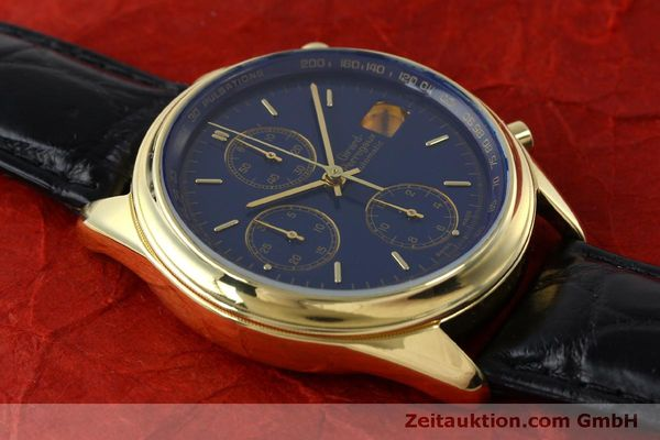 Used luxury watch Girard Perregaux * chronograph 18 ct gold automatic Kal. 8000-514  | 151776 13