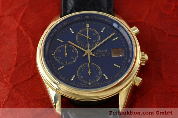 montre de luxe d occasion Girard Perregaux * chronographe or 18 ct automatique Kal. 8000-514  | 151776 14