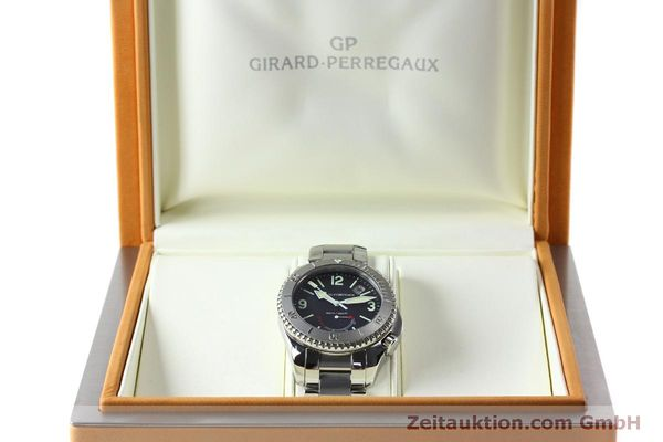 Used luxury watch Girard Perregaux Sea Hawk steel automatic Kal. 330C Ref. 4992  | 151777 07