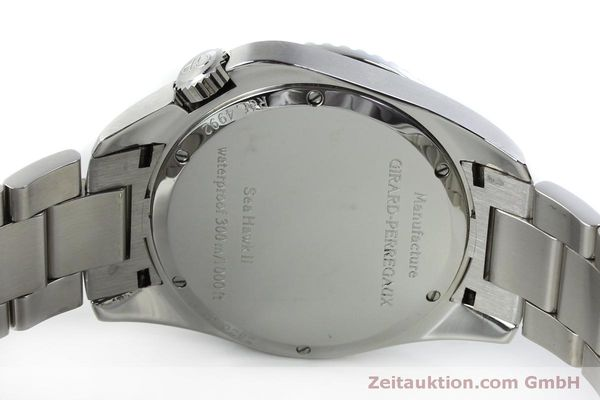 Used luxury watch Girard Perregaux Sea Hawk steel automatic Kal. 330C Ref. 4992  | 151777 09