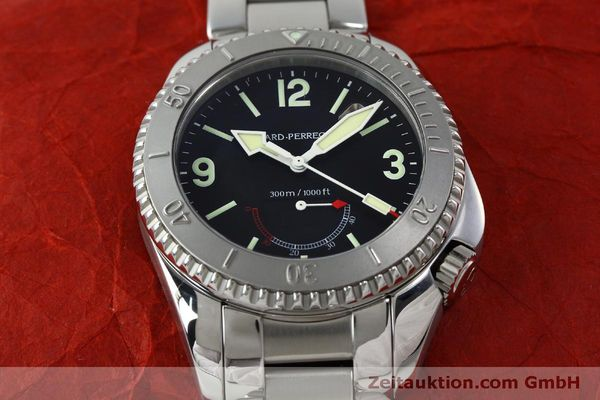 Used luxury watch Girard Perregaux Sea Hawk steel automatic Kal. 330C Ref. 4992  | 151777 17