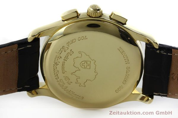 Used luxury watch Zenith Elprimero chronograph 18 ct gold automatic Kal. 400 Ref. 30.0220.400  | 151781 09