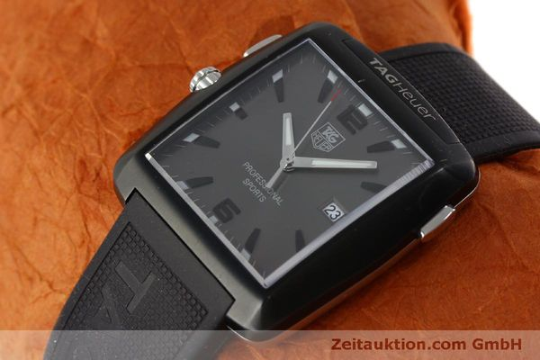 Used luxury watch Tag Heuer Professional steel / titanium quartz Kal. Ronda 1005 Ref. WAE1113  | 151782 01