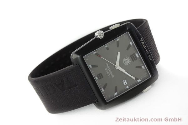 Used luxury watch Tag Heuer Professional steel / titanium quartz Kal. Ronda 1005 Ref. WAE1113  | 151782 03
