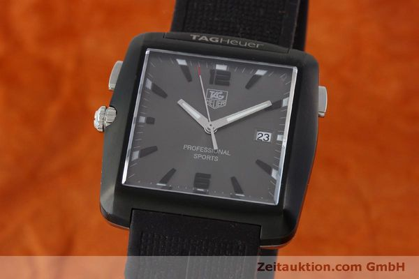 Used luxury watch Tag Heuer Professional steel / titanium quartz Kal. Ronda 1005 Ref. WAE1113  | 151782 04