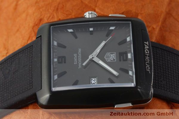 Used luxury watch Tag Heuer Professional steel / titanium quartz Kal. Ronda 1005 Ref. WAE1113  | 151782 05