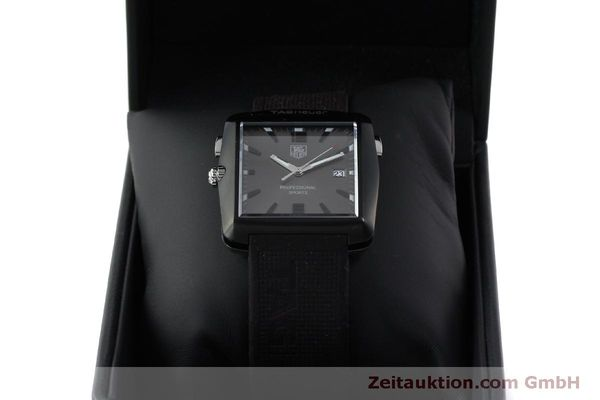 Used luxury watch Tag Heuer Professional steel / titanium quartz Kal. Ronda 1005 Ref. WAE1113  | 151782 07