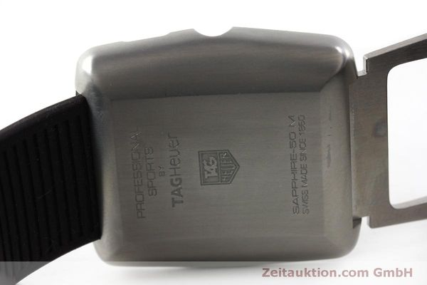 Used luxury watch Tag Heuer Professional steel / titanium quartz Kal. Ronda 1005 Ref. WAE1113  | 151782 09