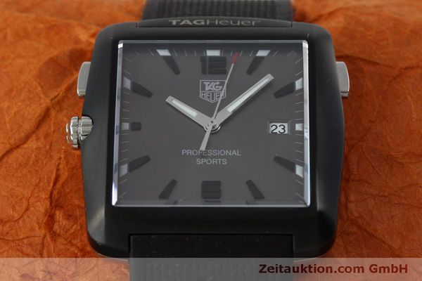 Used luxury watch Tag Heuer Professional steel / titanium quartz Kal. Ronda 1005 Ref. WAE1113  | 151782 14