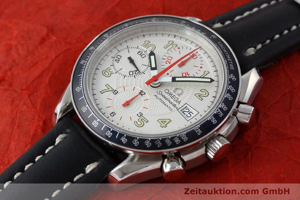 Used luxury watch Omega Speedmaster chronograph steel automatic Kal. 1152  | 151786 01
