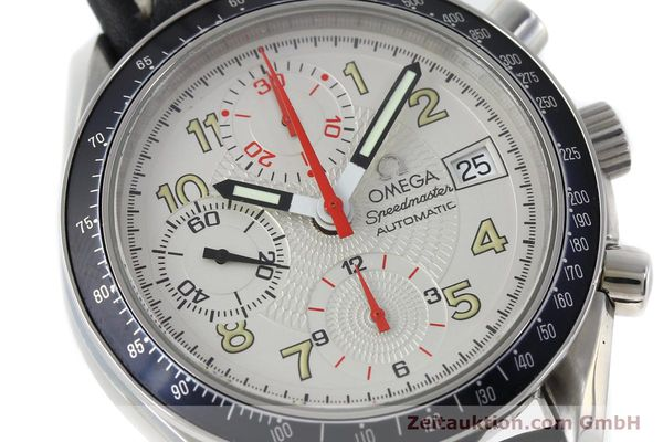 Used luxury watch Omega Speedmaster chronograph steel automatic Kal. 1152  | 151786 02