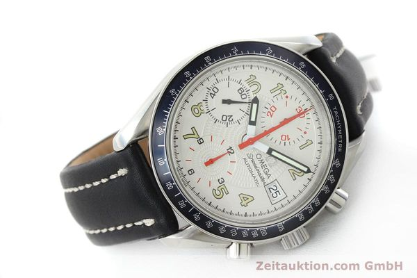 Used luxury watch Omega Speedmaster chronograph steel automatic Kal. 1152  | 151786 03