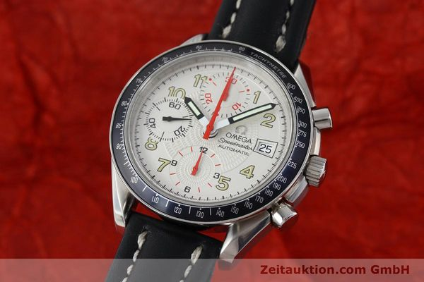 Used luxury watch Omega Speedmaster chronograph steel automatic Kal. 1152  | 151786 04