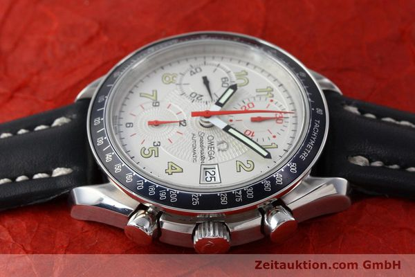 Used luxury watch Omega Speedmaster chronograph steel automatic Kal. 1152  | 151786 05