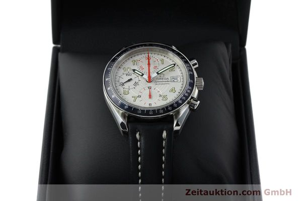 Used luxury watch Omega Speedmaster chronograph steel automatic Kal. 1152  | 151786 07