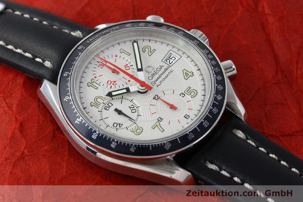 Used luxury watch Omega Speedmaster chronograph steel automatic Kal. 1152  | 151786 14