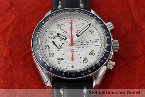 Used luxury watch Omega Speedmaster chronograph steel automatic Kal. 1152  | 151786 15