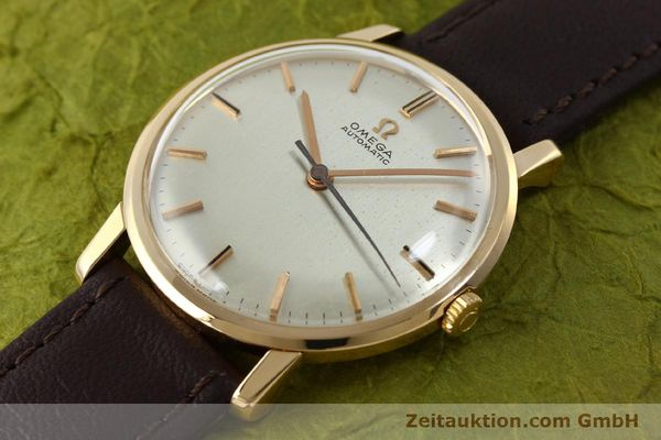 Used luxury watch Omega * 18 ct gold automatic Kal. 552 VINTAGE  | 151787 01