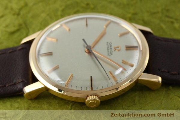 Used luxury watch Omega * 18 ct gold automatic Kal. 552 VINTAGE  | 151787 05