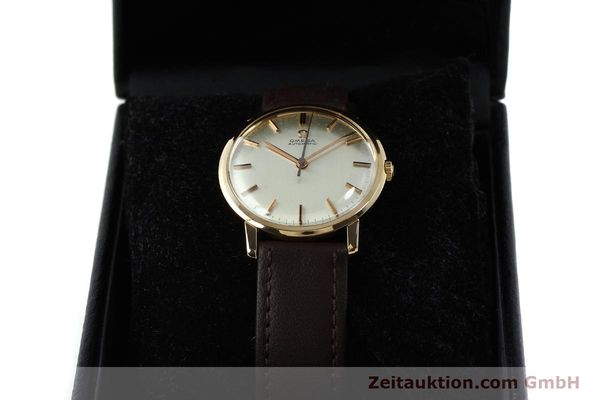 Used luxury watch Omega * 18 ct gold automatic Kal. 552 VINTAGE  | 151787 07