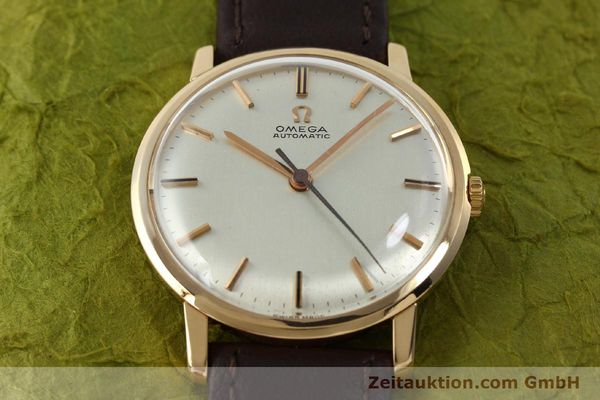 Used luxury watch Omega * 18 ct gold automatic Kal. 552 VINTAGE  | 151787 14