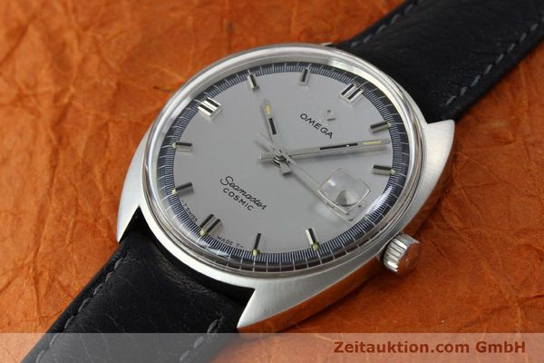 Used luxury watch Omega Seamaster steel automatic Kal. 565 Ref. 166.026 VINTAGE  | 151793 01