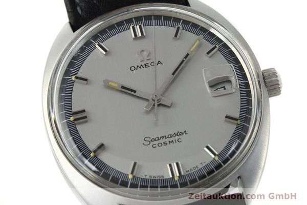Used luxury watch Omega Seamaster steel automatic Kal. 565 Ref. 166.026 VINTAGE  | 151793 02