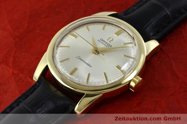 Used luxury watch Omega Seamaster 18 ct gold automatic Kal. 354  | 151794 01